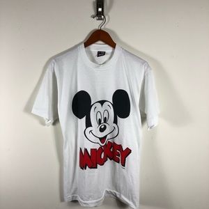 Vintage Mickey Mouse Best Fruit of The Loom Tee